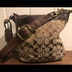 Coach Soho Signature Convertible Handbag